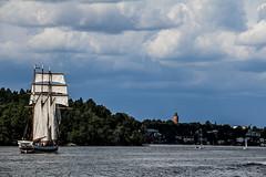Baltic (pietro86d) Tags: baltic sea stoccolma stockholm sverige sweden svezia sky skyline ship