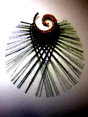 Woven by Maureen Harte (Steve Taylor (Photography)) Tags: newzealand sculpture art texture contrast digital wow spiral design nelson nz southisland woven weave flax plait harekeke maureenharris worldofwearableartandcollectiblecars