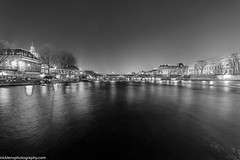 Le pont des Arts (Nick Lens Photography) Tags: paris reflection nikon wideangle nikkor tamron pontdesarts