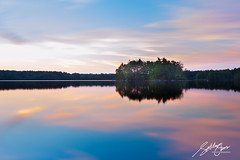Haggetts Pond (Sotitia Om Photography) Tags: haggettspond andover massachusetts newengland sunrise sunset canon canonusa landscape waterscape island reservoir longexposure khmerphotographer cambodianphotographer sotitiaomphotography canon1740mm