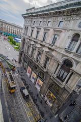 Falling (rayr18) Tags: balcony falling angle milan milano italia italy street trolley train architecture d7000 nikon