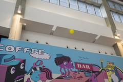 #10 Up (issaret.chalermsopone) Tags: street streetphoto streetphotography streetphotothailand streetphotocolor streetphotographer streetwithoutpeople smile balloon ad graffiti mall olympus olympusomd zuiko zuiko17mm zuikodigital everybodystreet