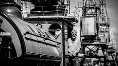 Bristol Harbour Festival 2016 (pixelhut) Tags: bristol uk england southwest city urban harbourfestival harbourside bristolharbourrailway steam train portbury mshed spikeisland blackandwhite