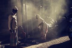 Street Scene (georgerani532) Tags: streetphotography naturallight sunlight smoke mumbai india