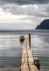 Sekiu harbor (waldo.posth) Tags: sony slta99v tamron f3563 28300mm di pzd 120mm sekiu harbor vancouver island washington state boat pier sea clouds