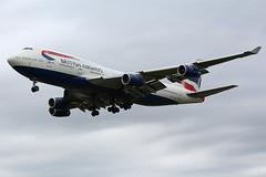 British Airways 747-400 G-BNLY (Thomas Theisen) Tags: british airways 747400 landing london united kingdom heathrow airport