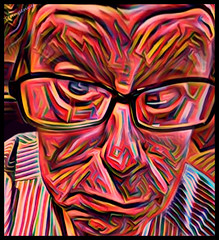 (Cliff Michaels) Tags: iphone6 iphone photoshop pse9 prisma me portrait