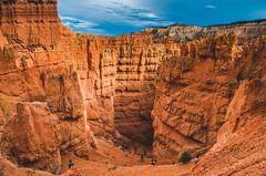 Byrce Canyon (Karthik Venkatraman) Tags: brycecanyon hoodos hiking sunsetpoint sunrisepoint navajotrail