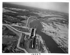 Barkley Dam Construction Project (NashvilleCorps) Tags: 1963 construction usace barkley barkleydam cumberlandriver corpsofengineers kentucky nashvilledistrict