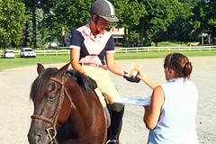 IMG_2545 (SJH Foto) Tags: horse show rider ribbon award teen girl teenager