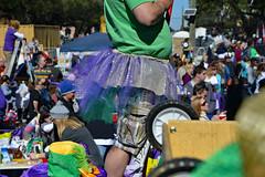 Joey's Tutu (BKHagar *Kim*) Tags: bkhagar mardigras neworleans nola la louisiana people parade carnival street napoleon day tutu purple green gold tulle