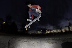 fs/flip (AgustnCarrillo) Tags: skate skateboard skateboarding frontside flip kick fip kickflip san benito trelew chubut argentino argento ojo de pez fish eye strobist streets agustincarrillo andrew reynolds fransisco lencina