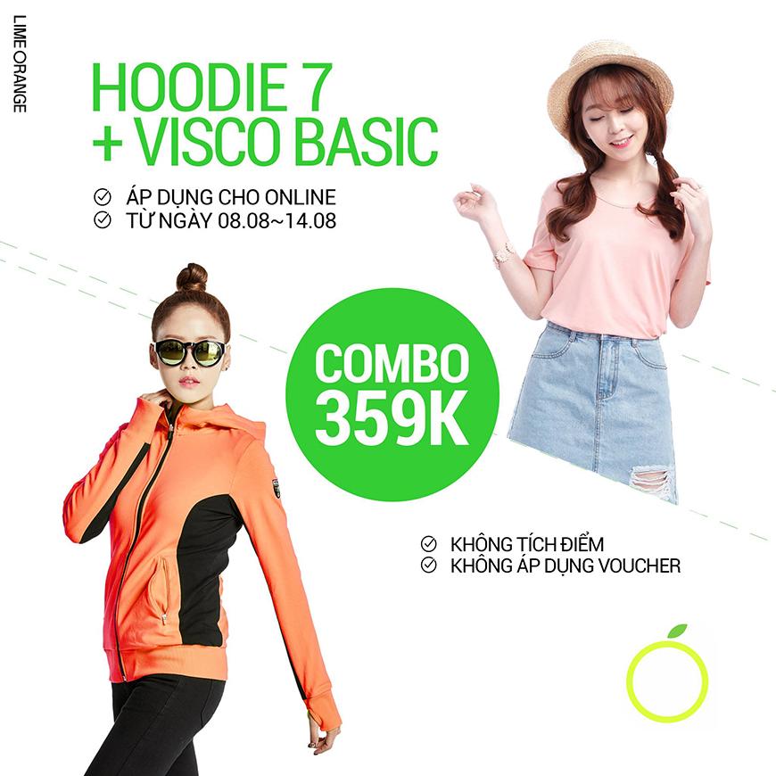 COMBO HOODIE + VISCO