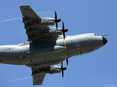 Royal Air Force Airbus Military A400M Atlas C1 ZM403 performs visual circuit at RAF Gibraltar (Mosh70) Tags: gibraltar rafgibraltar raf rafbrizenorton royalairforce atlas a400matlas zm403