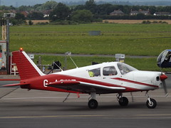 G-ASVZ Piper Cherokee 28 (Aircaft @ Gloucestershire Airport By James) Tags: gloucestershire airport gasvz piper cherokee 28 egbj james lloyds