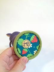 detail2 (MelissaSueArt) Tags: plush handmade softsculpture arttoy designertoy embroidery stitched stuffed wootberries fauxtaxidermy stopmotion koala kawaii