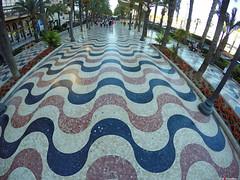 La Explanada Through my GoPro (Fotomondeo) Tags: alicante alacant explanada goprohero4black spain espaa