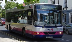 Doncaster (Andrew Stopford) Tags: y953csf volvo b10ble wright renown first doncaster