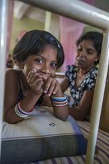 Girl in Sri Lankan hospital 6301 (shahidul001) Tags: healthcare hospital ward sickbed hygiene ill illness sick sickness disease patient girl woman female srilankan srilankans vertical portrait color colour srilanka southasia drik drikimages