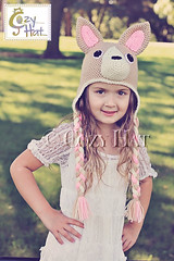 Chihuahua Hat Crochet by Cozy Hat (Anastasia wiley) Tags: chihuahuapuppyhat chihuahua puppy hat valentinesdaypuppy doggy dog hearts bows hatwithhears furhat crochet kids toddlers adults anastasiawiley infant irarottpattern costume cozyhat beige brown black