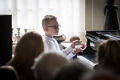 Huis-, Tuin- en Dakterrasconcert: Nathan Schaumann & Evander Eijsink (Grachtenfestival) Tags: bach piano liszt prokofjev stijlkamer amsterdam grachten grachtengordel