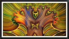 Magic Tree (eXalk) Tags: art abstract design digital dream deep fantasy fractal flower flora organic ornament oilpainting computergrafik mandelbulb3d