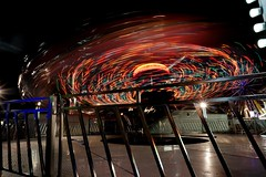 DSC02259 (Moodycamera Photography) Tags: canadiannationalexhibition cne toronto ontario nightphotography rides slowshutterspeed long exposurerlights ferriswheel swing turning twisting spining amusment horse hdr