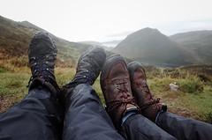 (alexvdmeulen) Tags: isleofskye scotland highlands scottishhighlands thequiraing muddyboots