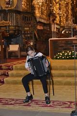Beatriz Leonardo, acordeón en la Catedral