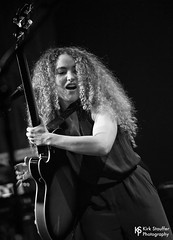 Tal Wilkenfeld @ Triple Door (Kirk Stauffer) Tags: kirk stauffer photographer nikon d5 adorable amazing attractive awesome beautiful beauty charming cute darling fabulous feminine glamour glamorous goddess gorgeous lovable lovely perfect petite precious pretty siren stunning sweet wonderful young female girl lady woman women live music tour concert show stage gig song sing singer singing vocals vocalist perform musician band lights lighting indie rock long brown hair brunette curly model tall fashion style portrait photo smile smiling playing guitar aussie black white bw