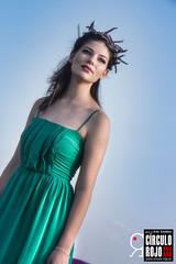 Nicole Petre (Ardo Gwyddon) Tags: brihuega fashion lavanda models shootinglavanda sun campo modelo vestido verde face portrait retrato cara diademadeflores diadema flores