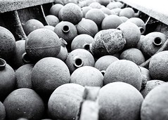 An estimated 270 million cluster bombs were dropped by America on Laos during the Vietnam war, totalling 2 million tonnes of ordnance.  This is more ordnance than was dropped during the Second World war and equates to 1 tonne of explosives per person. It