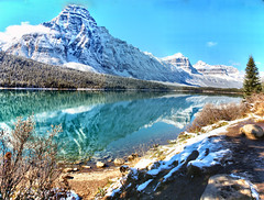 Waterfowl Lake, Banff National Park, Alberta, Canada - ICE(5)1221-1231 (photos by Bob V) Tags: mountains rockies rockymountains canadianrockies panorama mountainpanorama alberta albertacanada banff banffpark banffnationalpark banffalbertacanada lake mountainlake waterfowllake reflection reflectiononwater