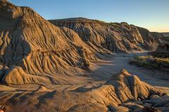 Surreal hoodoo mounds (Mala Gosia) Tags: kajtek malagosia oct232016 dinosaurprovincialpark alberta ab hoodoo hoodoos outdoor canoneos6d landscape canada badlands rocks rockformation dawn sunrise