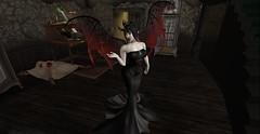(*~~~Amanda~~~*) Tags: zenny secondlife vampire catwa whimsy creepy halloween
