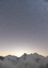 Stars and mountains ([Alexandre]) Tags: wideangle nighscape sunset astrophotography stars mountains xt1 samyang12mm20 clouds hikingn adventure fuji samyang italy nightphotography alps grivola mountaineering degioz valledaosta it