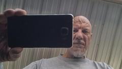 Auto Reflection - Kinda hard to believe I'm shooting into black paint (Oliver Leveritt) Tags: chemicalguys cadillac black shine polish wax reflection blackpaint notindoor outdoor man selfie