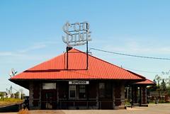 Former Soo Line Railroad Depot, Superior Wisconsin (Cragin Spring) Tags: railroad trainstation depot sign vintagesign oldsign sooline building superior superiorwisconsin superiorwi wisconsin wi midwest unitedstates usa unitedstatesofamerica northernwisconsin architecture