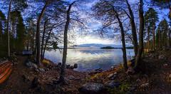 Ready for winter (Kari Siren) Tags: autumn fall lake karijarvi jaala finland wooden boat