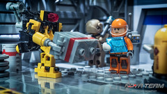 UT-N8T: Inventory Work (Agaethon29) Tags: lego afol legography brickography legophotography minifig minifigs minifigure minifigures toy toyphotography macro cinematic 2016 legospace neoclassicspace spaceman classicspace space scifi sciencefiction ncs novateam customminifigure moc robot arcbots