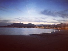 Alcudia 2016 (kerry_hocking) Tags: warm clear pink blue sky sun clouds love sunset family water beach sand holiday majorca alcudiabay