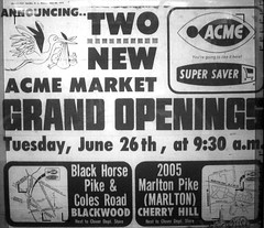 Acme Opening Ad 06-73 (JSF0864) Tags: acme market opening ad advertisement vintage former clover
