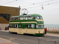 Blackpool Balloon (deltrems) Tags: blackpool promenade lancashire fylde coast transport tram public service vehicle balloon