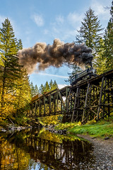 Autumn on the Chelatchie Prairie Railroad (kdmadore) Tags: railroad steamlocomotive chelatchieprairie crossettwestern crwc10