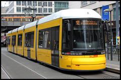BVG Flexity 4006 (Xavier Bayod Farr) Tags: berlin germany tram xavier tramway friedrichstrasse berliner strassenbahn tranvia villamos bvg  tramvia bayod verkehrsbetriebe 4006 friedrichstrase farr elektrika berlinerverkehrsbetriebe strasenbahn flexity canoneos60d efs18135mmf3556isstm xavierbayod xavierbayodfarr