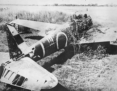 "Downed Japanese Nakajima Ki-43 fighter • <a style=""font-size:0.8em;"" href=""http://www.flickr.com/photos/81723459@N04/15687793693/"" target=""_blank"">View on Flickr</a>"