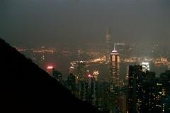 View from The Peak (Hong-Kong) (Boris Capman) Tags: kodak brian peak olympus hong kong mc boris sopa portra om2 160 capman