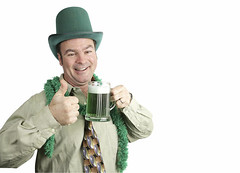 You Probably Didn't Know That These 10 National Stereotypes Are NOT True (rockangelgrove) Tags: party portrait irish white holiday man male guy green beer glass smile hat saint bar drunk fun happy person pub drink background beverage feather patrick celebration boa event tophat mug celtic copyspace thumbsup celebrate celt stein isolated stpatricksday leprechaun caucasian