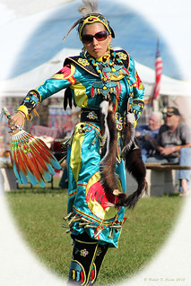 Native American Princess Dancing