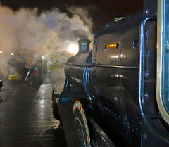 Great Central Railway Loughborough Leicestershire 31st January 2015 (loose_grip_99) Tags: uk railroad england night train leicestershire engine rail railway trains steam nighttime transportation locomotive manor railways preservation gwr 460 greatcentral greatwestern 7820 uksteam gassteam dinmoremanor